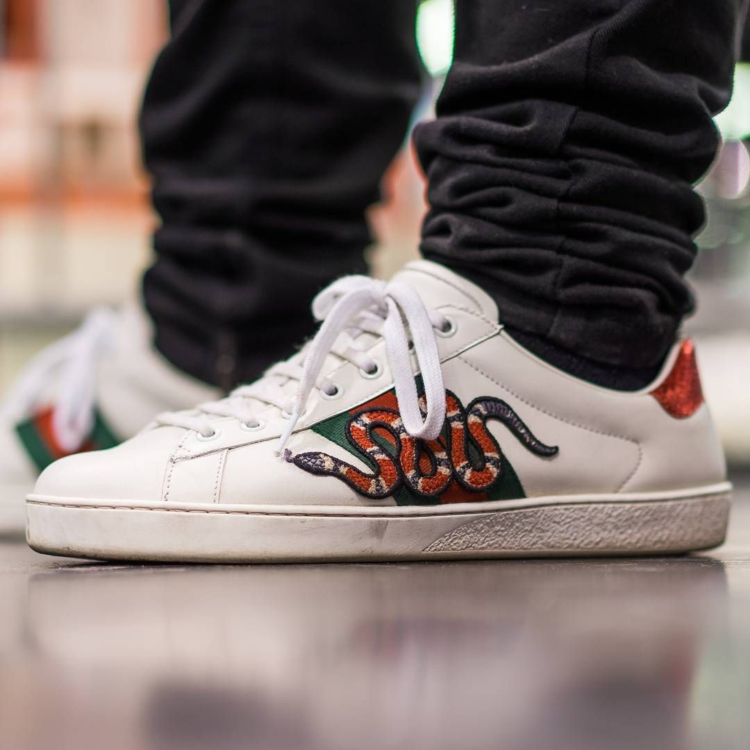 512f3d164 GUCCI Snake Ace Sneaker | i fucks with this in 2019 | Gucci snake ...