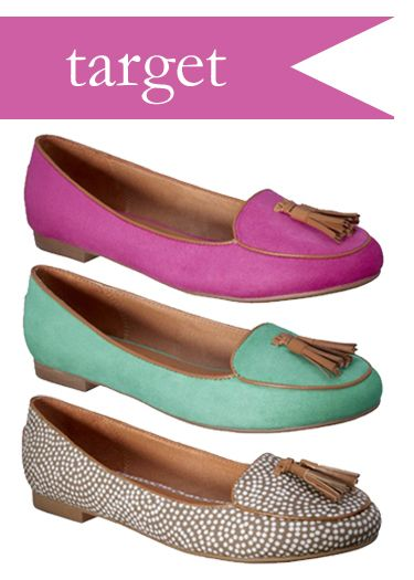Loafers with tassels from Target for $20 . . . I'll take one of each.