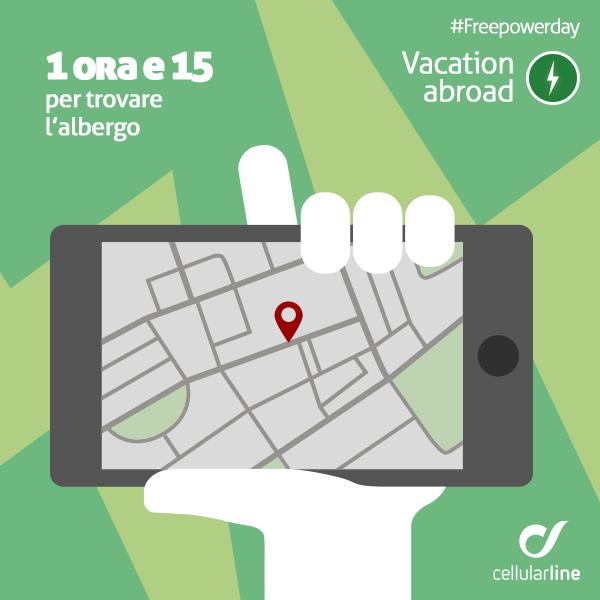 Usare il #navigatore per trovare il tuo albergo? Assicurati di non rimanere senza #batteria! #smartphone #vacanze #gps #powerbank