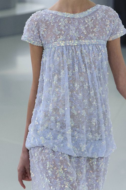 An eye for vintage detail.  LEARN MORE AT......... http://www.thevintagelighthouse.com/ fashionsprose: Details at Chanel Couture S/S 2014