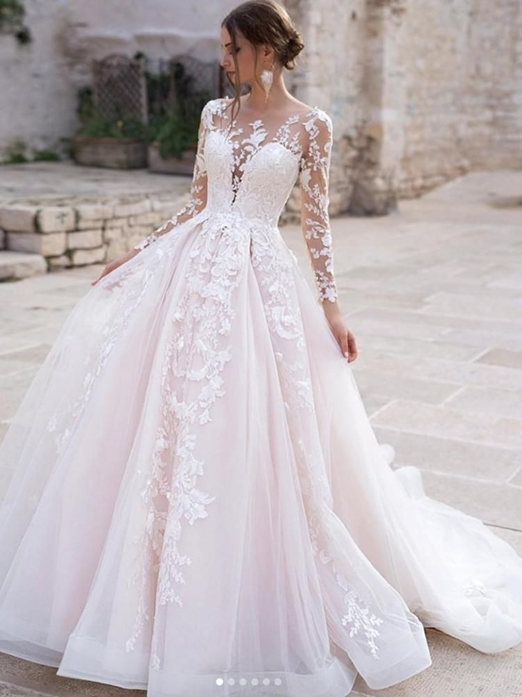 45+ Long sleeve wedding dress for sale information