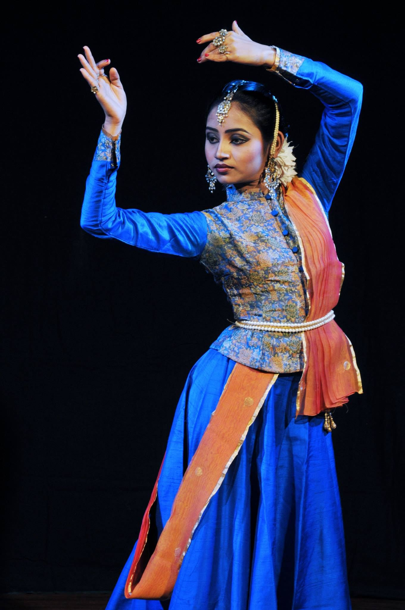 Elegant Kathak Costume Dance Outfits Dance Fashion