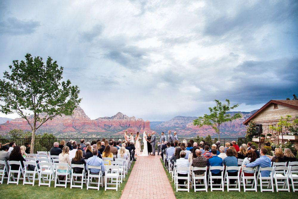 Sky Ranch Lodge Sedona Wedding Dramatic Skies Sedona Wedding Photographer Ryan Williams Photo Sedona Wedding Phoenix Wedding Venue Arizona Wedding Venues