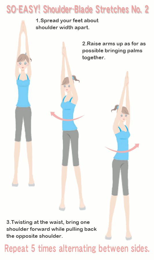 SO-EASY! Shoulder-Blade Stretches No 2   Fit and Fabulous   Muscle