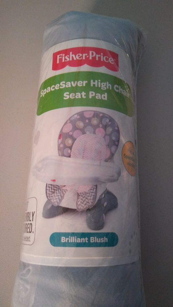 New ~fisher Price High Chair Or Space Saver Replacement Pad Cover Cushion Baby Feeding