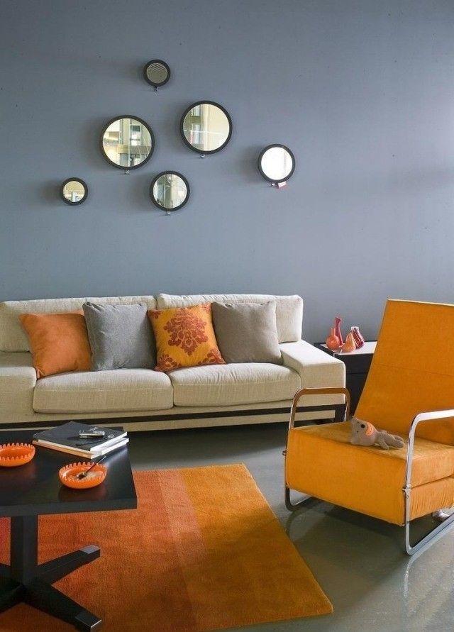 Peinture salon: 24 couleurs, conseils et astuces pour vous ...