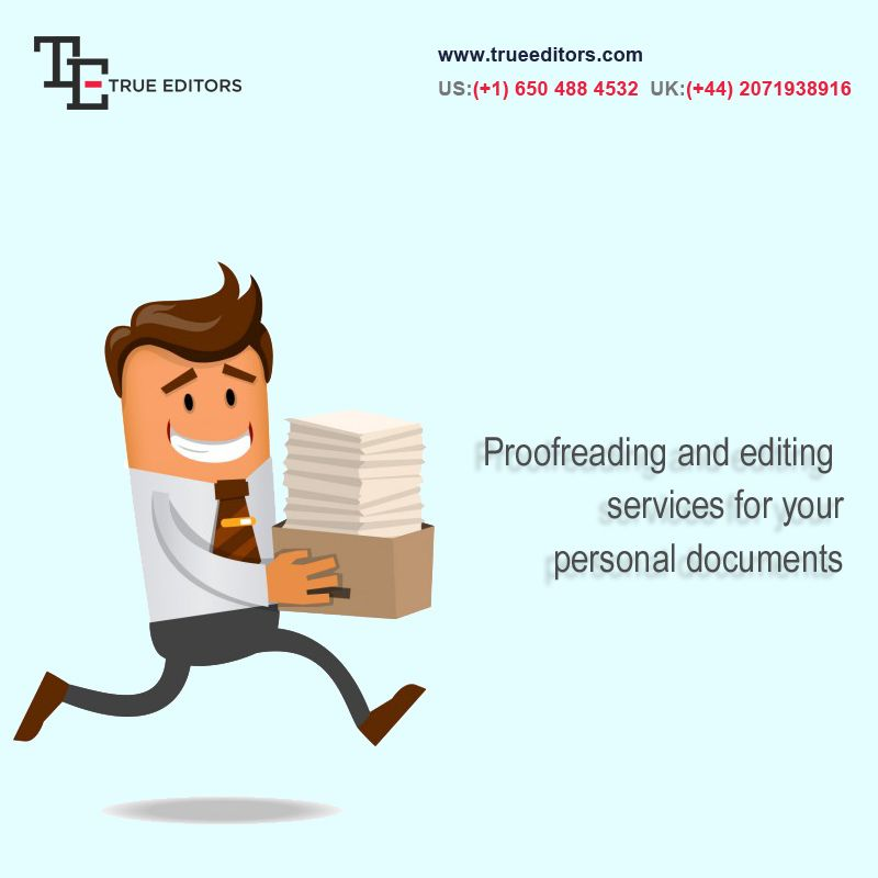 Editing proofreading service