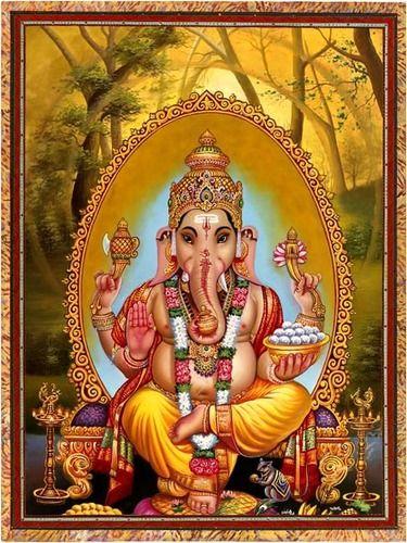 Ganesh | Paul Heussenstamm Mandalas | Oracle cards, Ascended