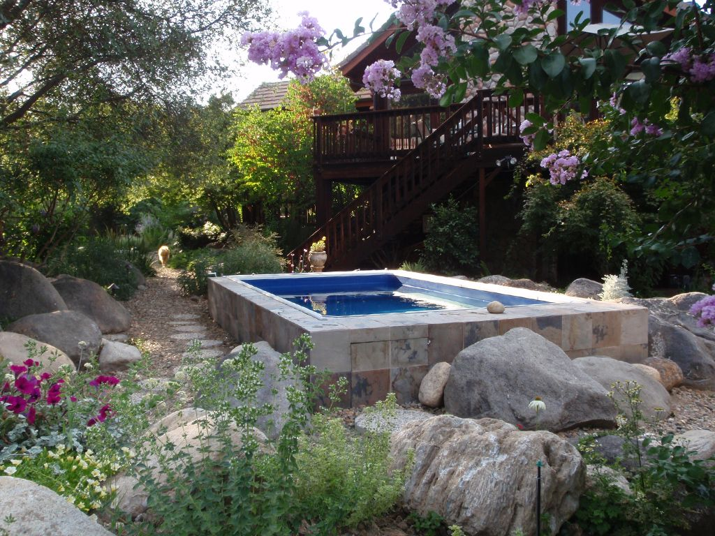 A Tucked Away Endless Pool Now That S Relaxation