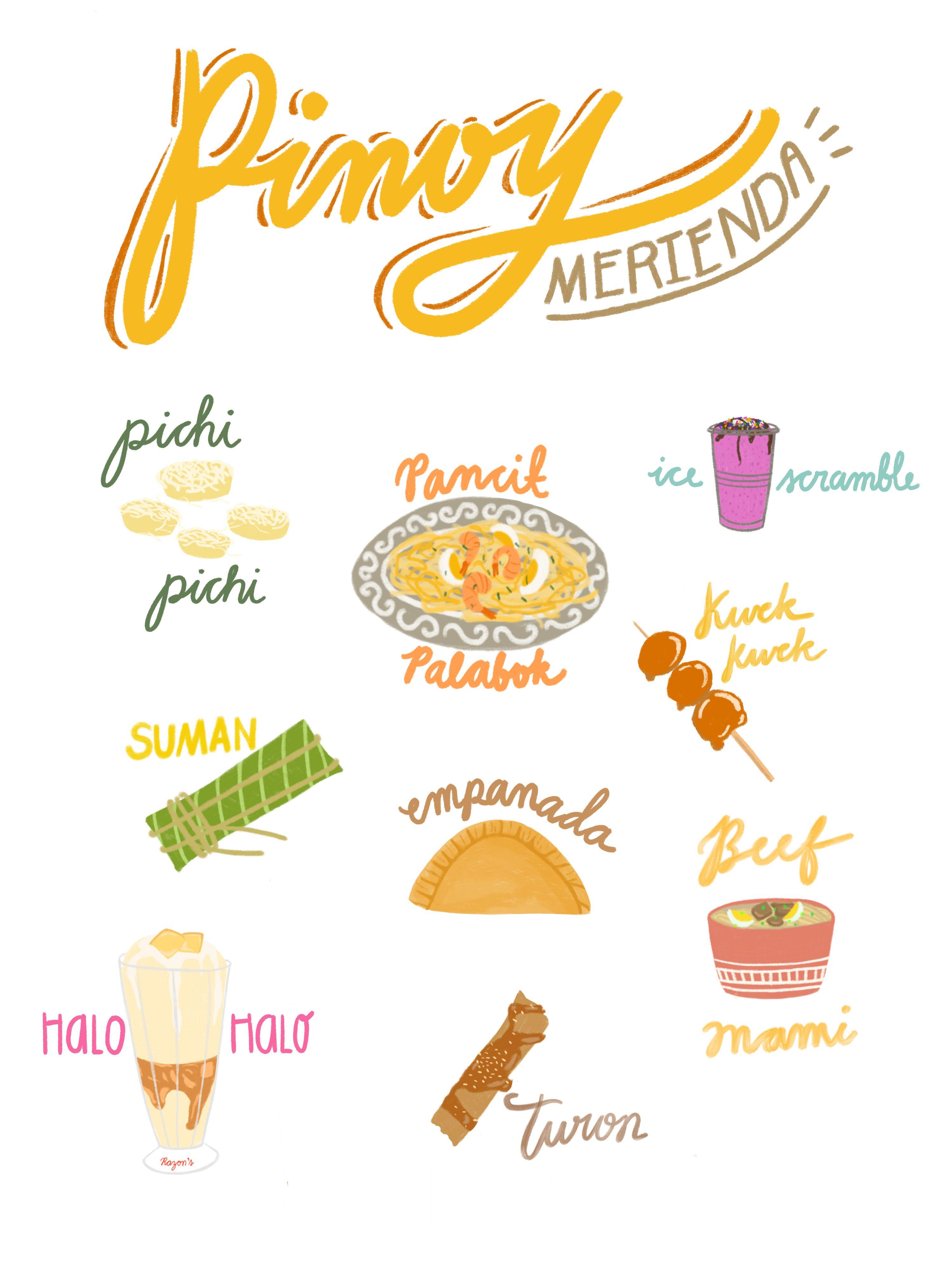 Filipino Food Filipino Recipes Food Artwork Native Foods