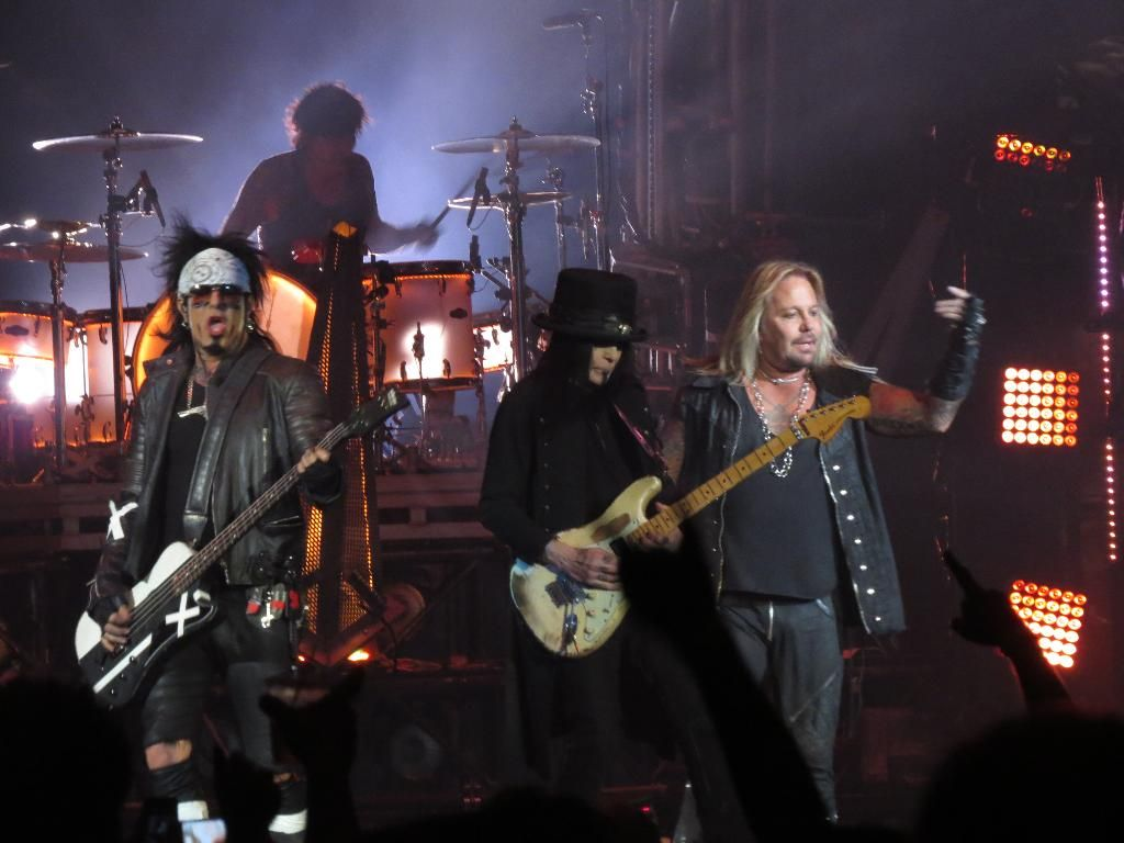 """The December 13th Motley Crue show at the Saddledome was historic for a couple of reasons. First, it was the second go at Calgary on the """"All Bad Things Must Come To An End"""" tour. It was also the bands final show ever in Canada.   / Fans landed in 2 camps on the first aspect of that. Some were..."""