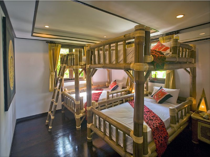 Bamboo Bunk Bed Frame Google Search Ideas For Development