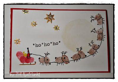 Gwenny´s Blog - #fingerprint #weihnachtsbastelnmitkindernunter3