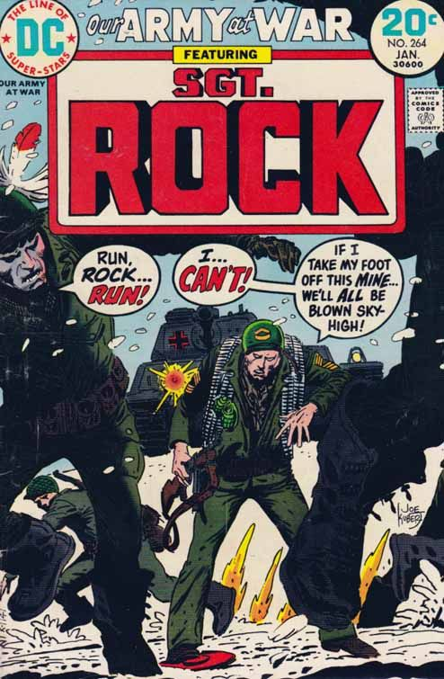 Our Army at War #264 Joe Kubert Cover Art