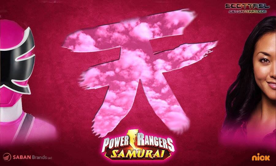 Pink power symbol power rangers samurai pinterest power rangers samurai - Power ranger samurai rose ...