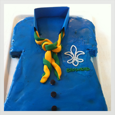 Spejder kage / Cubscout cake