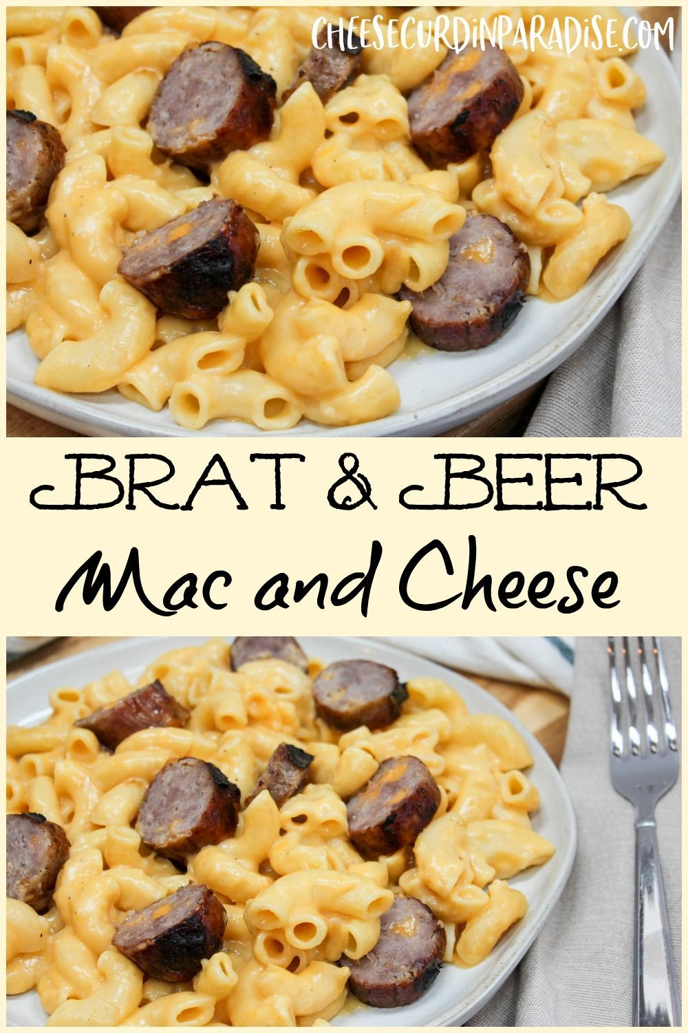 brat and beer mac and cheese  recipe  beer mac and