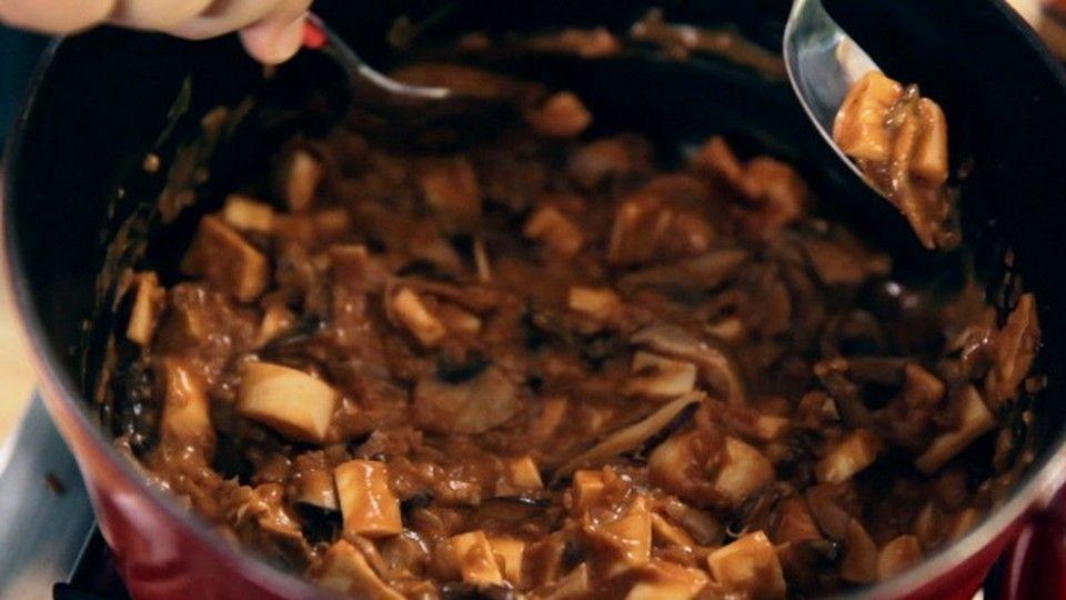 Estrogonofe De Cogumelos Com Palmito Pupunha Receita Da Bela Gil