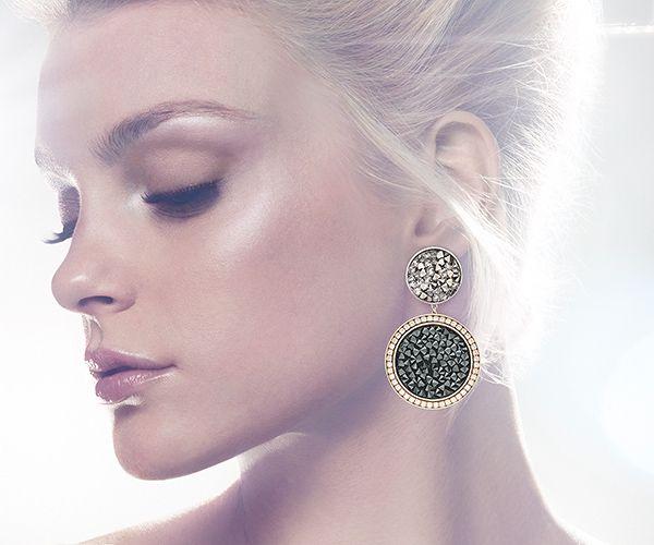 Sound Pierced Earrings - Jewelry - Swarovski Online Shop