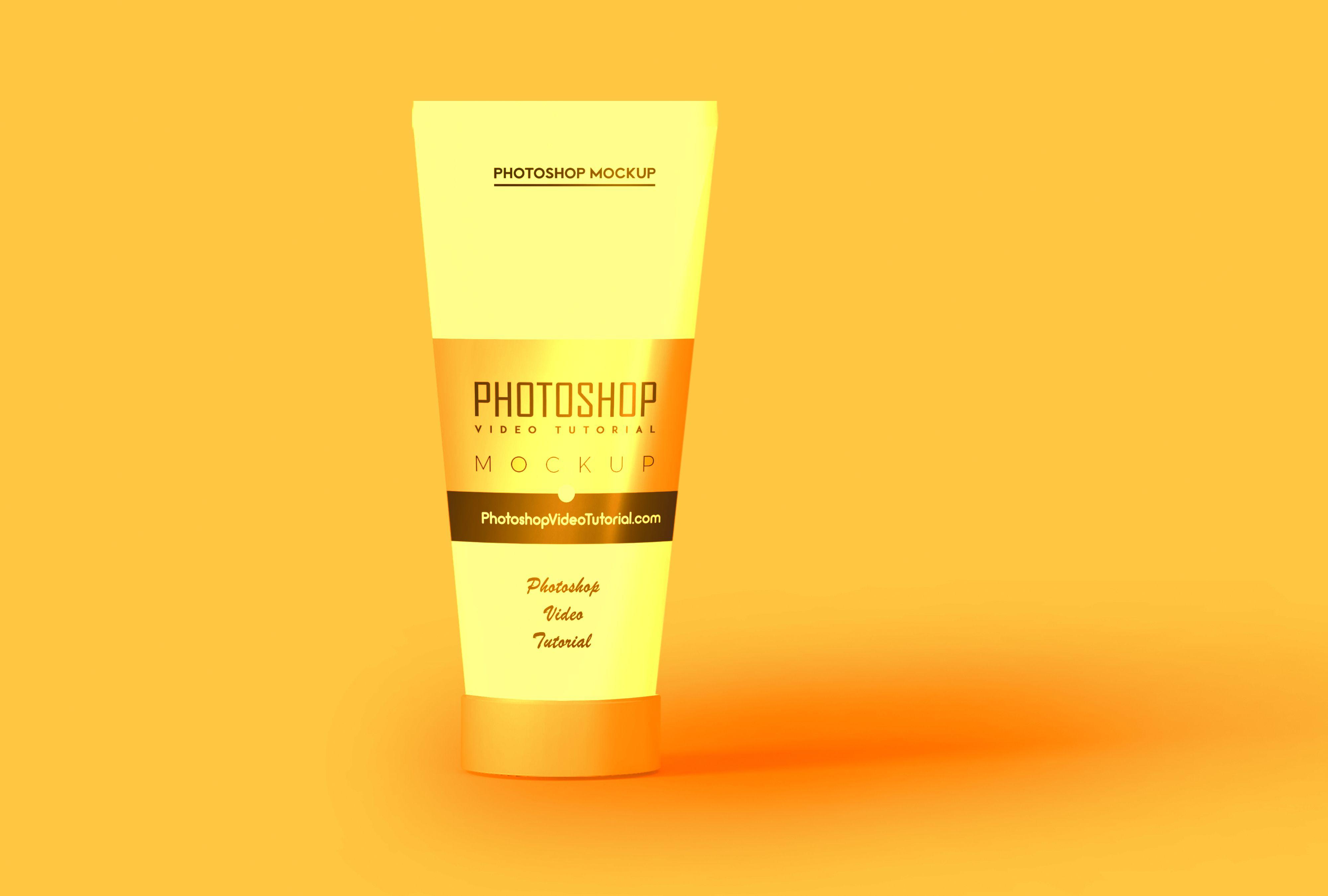 Premium Beauty Product Mockup Beauty products mockup