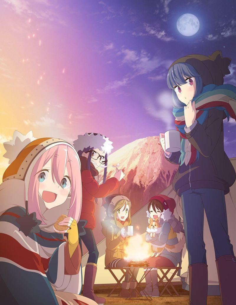 Laid Back Camp Anime Hits Japanese Tv On 1 4 2018 Anime Herald Anime Anime Shows Manga Cosplay