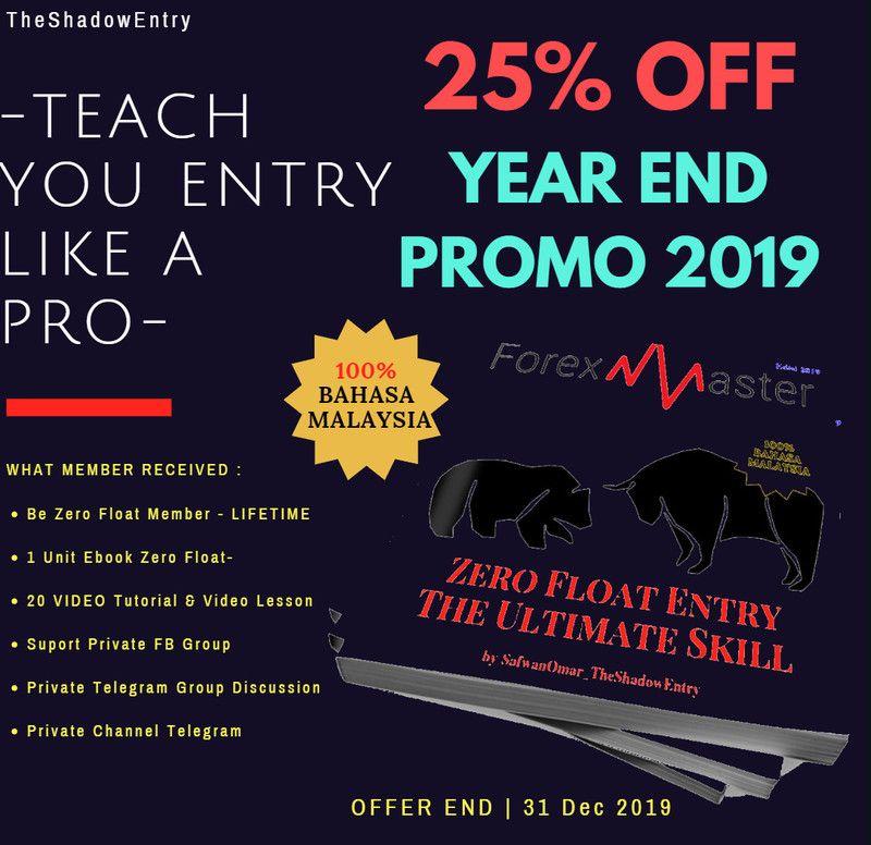 Vebook Zero Float Entry Ultimate Skill Edisi 2019 Tutorial