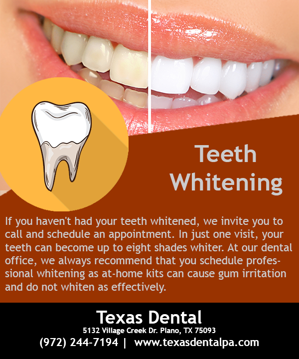 In Just One Visit Your Teeth Can Become Up To Eight Shades Whiter Brightsmile Teethwhitening Whiteteeth Dentist With Images Dental Braces Dental Dentistry