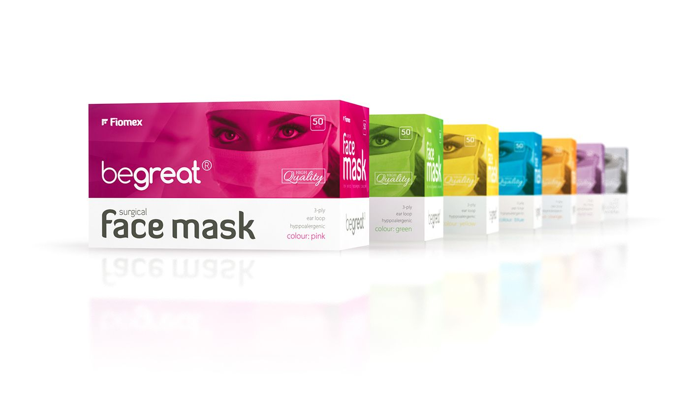 Download Https Www Behance Net Gallery 36004055 Surgical Face Mask Packaging Design Box Packaging Design Packaging Design Creative Packaging Design
