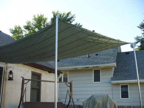 Diy Sun Shade For Your Patio Or Terrace Shelterness Patio Shade Diy Patio Pergola Ideas For Patio