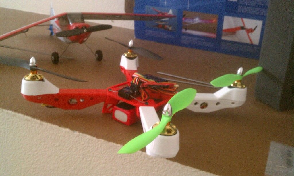 Mk3 Hercules Quadcopter By Steinbex Hercules Great Pictures Diy