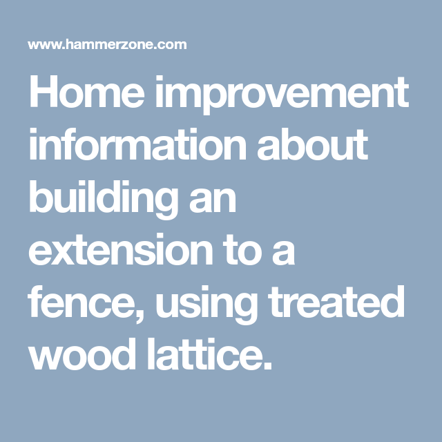 Home Improvement Information About Building An Extension