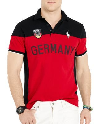 642759f90a42 POLO RALPH LAUREN Germany Slim Fit Polo Shirt.  poloralphlauren  cloth   shirt