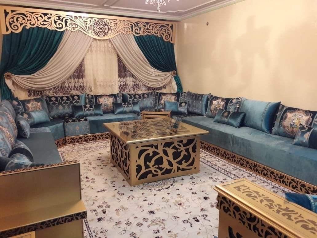Pin By Jamila Na On Salon Marocain Moroccan Living Room Home Decor House Interior