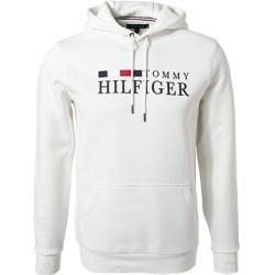 Tommy Hilfiger Kapuzensweater Herren, Baumwolle, weiß Tommy Hilfiger