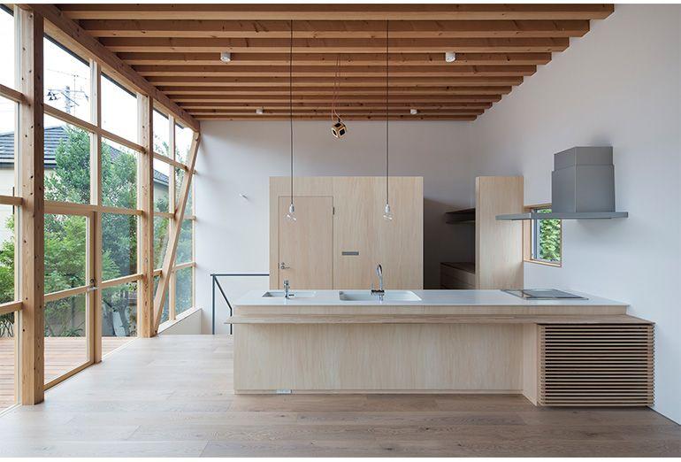 TETSUO YAMAJI ARCHITECTS|山路哲生建築設計事務所 | Indretning | Pinterest | Køkken, Arkitektur og Indretning