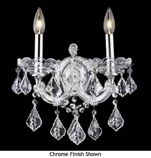 sconce   Crystal wall sconces, Wall sconces, Sconces on Decorative Wall Sconces Candle Holders Chrome Nickel id=83503