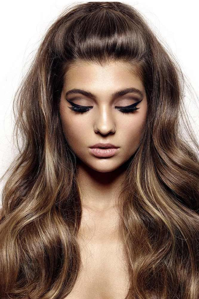 25 Gorgeous Haircuts For Heart Shaped Faces Lovehairstyles Com Hair Styles Long Hair Styles Easy Hairstyles For Long Hair
