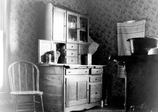 Grandma's Kitchen, C. 1910