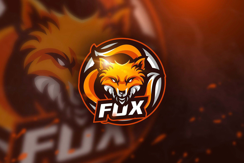 Fox 3 Mascot Logo Logotipo Do Jogo Logotipo Ilustracao