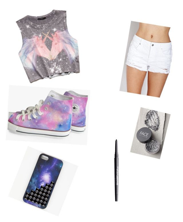 """""""styles by me !!!!!!!!!!"""" by fasionrebel ❤ liked on Polyvore featuring Forever 21, FACE Stockholm and Smashbox"""