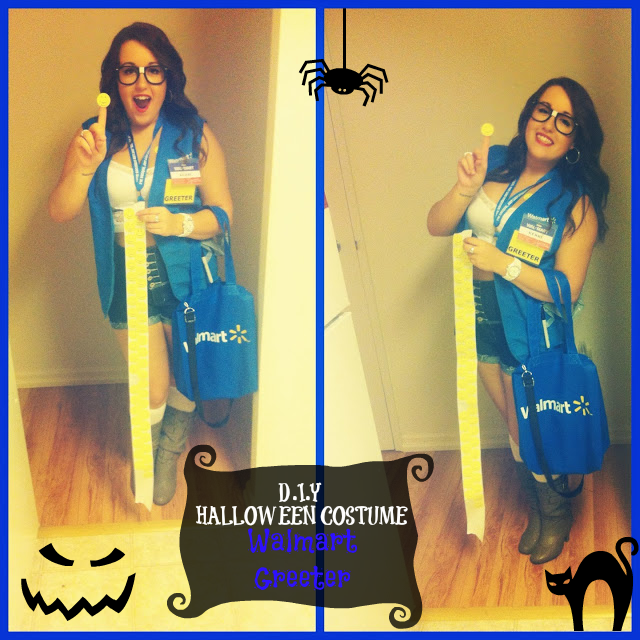 Walmart Employee Halloween Costume.Diy Halloween Costume Walmart Greeter Holiday Fun Halloween Diy