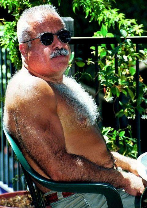 Hairy Older Bear Men