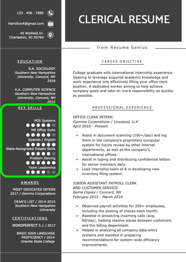 Resume Skills Section How To List Skills On Your Resume Resume Skills Resume Skills Section Resume Skills List