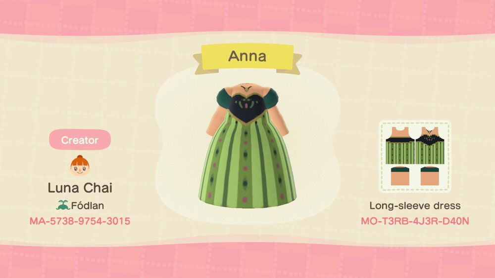 Luna Chai's patterns for Animal Crossing: New Horizons — Luna Chai #campfire
