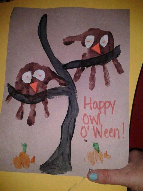 Happy owl o ween...halloween is a hoot pre-k halloween ...