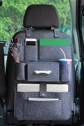 Photo of Lucky Sign car seat organizer rear seat pocket