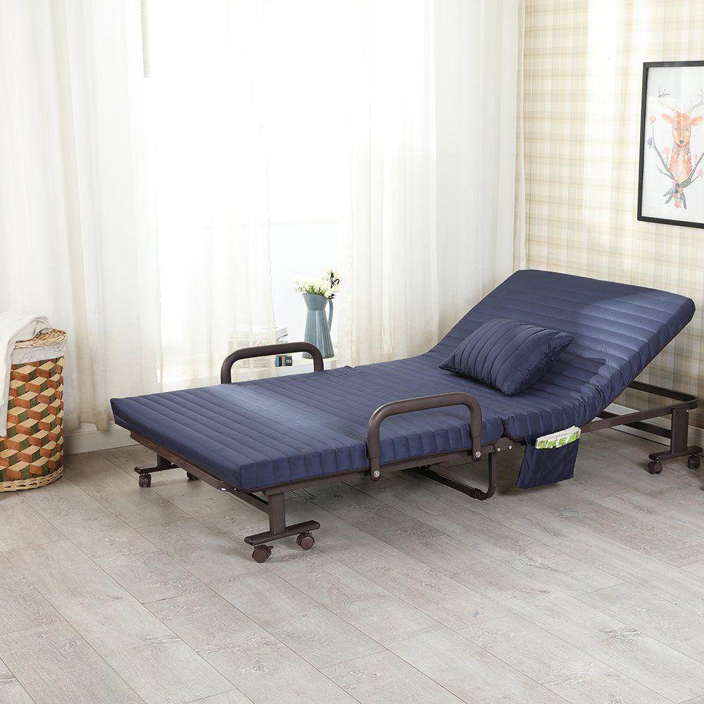 Best Luxury Single Folding Guest Beds With Adjustable Backrest 400 x 300