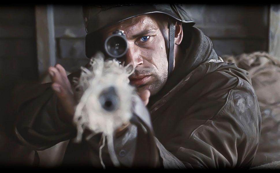 saving private ryan german sniper hd wallpaper