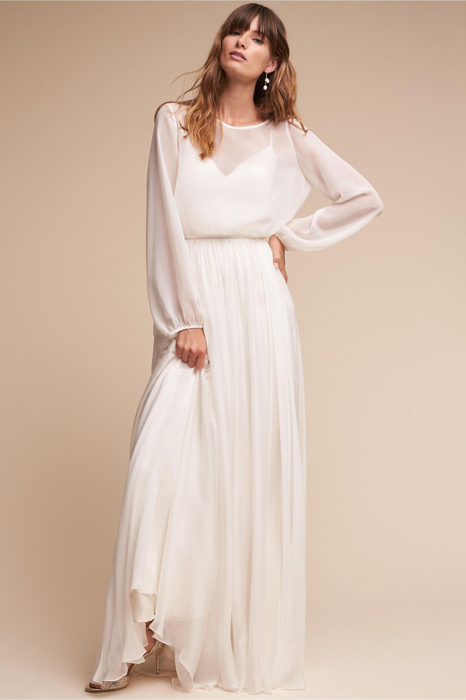 Bhldn julie topper ivory in bride bhldn wedding ideas