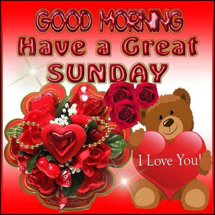 Good Morning Happy Sunday I Love You Good Morning Sunday Sunday Quotes  Happy Sunday Happy Sunday Quotes Good Morning Sunday Sunday Quotes For  Friends ...
